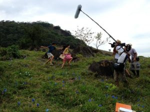 Muriaé - Filmagem A Família Dionti